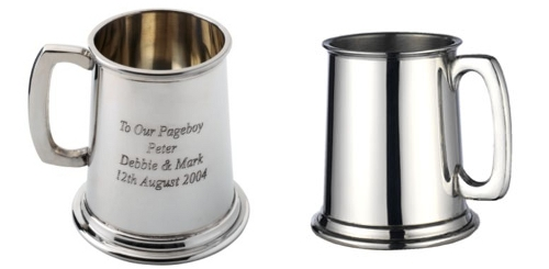 Children's Engraved Tankards