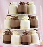 M & S Mini Wedding Cakes