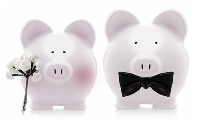 Mr and Mrs Piggy Banks