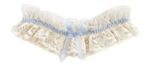 A bridal garter from the Love by Suzie Wedding Lingerie Collection
