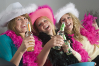 have a budget hen party at home
