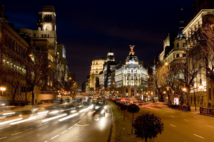 Madrid Centre by Night
