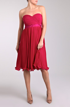 WHITNEY PLEAT DRESS
