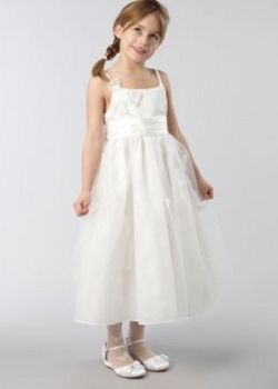 butterfly flowergirl dress