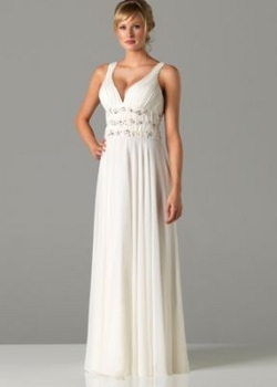 Ultimo full length wedding dress