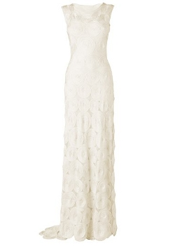 Phase Eight Circle Tapework Wedding Dress, Ivory