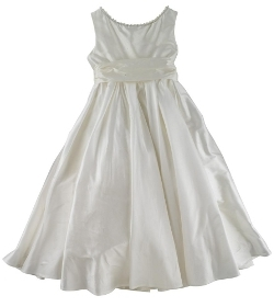 young bridesmaid or flowergirl dress