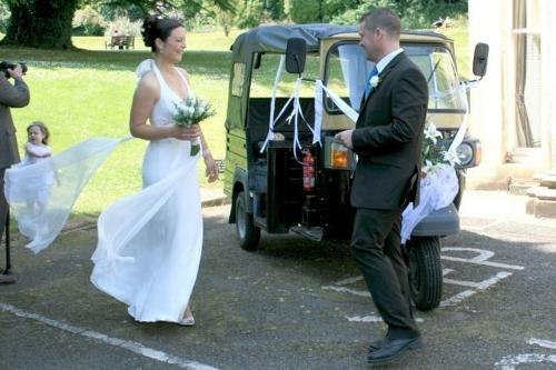 Wedding Tuk Tuk