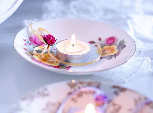 Vintage Style Table Tea Lights